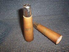 """Vintage  4"""" Wooden  SALT & PEPPER SET (#400)"""