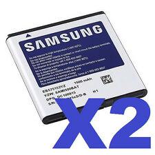 2x SAMSUNG OEM EB575152YZ BATTERY FOR GALAXY S FASCINATE SCH-I500 I500