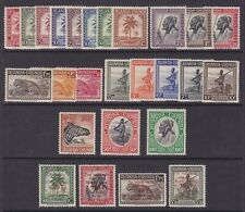 Ruanda Urundi 1942/44 Stamps set Cob#126/47 + Red Cross set 150/53 - All MNH Lx