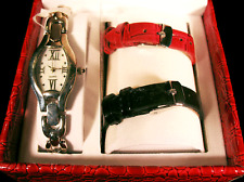 Coldwater Creek Multi Strap Ladies Boxed Wrist Watch Set, NIB, GREAT GIFT IDEA!!