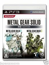 Used PS3 Metal Gear Solid HD SONY PLAYSTATION 3 JAPAN JAPANESE IMPORT