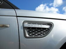 Grey+silver Range Rover sport 2005 AUTOBIOGRAPHY 2010 style wing side vents air