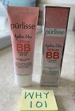 Purlisse AGELESS Glow BB Cream SPF40 MED TAN 1.4oz/40mL Full Sz EXP4/2024 RET$38