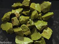 1 lb African GREEN OPAL Common Rough Tumbling Rock Tumbler Madagascar
