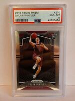 2019-20 Panini Prizm Dylan Windler Cleveland Cavalier Rookie NBA Card #270 PSA 8