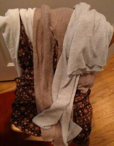 BRANDY MELVILLE RARE BUNDLE 4 items Brown Jada Dress, Tunic, Crop, Net Tops S/OS