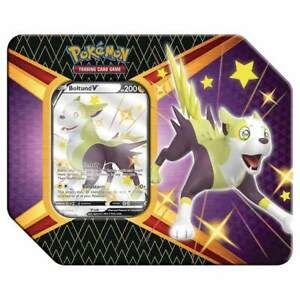 Pokémon TCG Shining Fates - Boltund V Tin