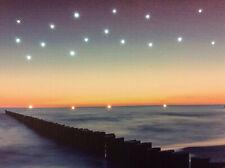 LED Wandbild mit Beleuchtung Blue Sea Leuchtbild 40x30 cm