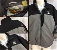 Timberland Winter Coat XL Black Gray Nylon Full Zip EUC YGI 2387