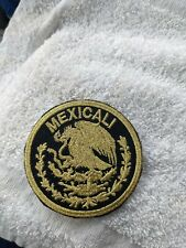 Mexicali Mexico Eagle Shield Embroidered Patch iron on