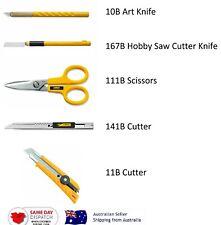 Japan OLFA Craft Cutter/Art Knife/Hobby Saw Cutter Knife/Multi-purpose Scissors