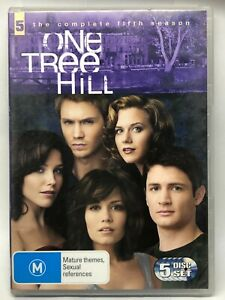 One Tree Hill - Complete Fifth Season - 5 DVD Set - AusPost with Tracking