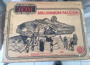 Vintage Star Wars Lili Ledy Millennium Falcon Original Box Only Mexico Regreso !
