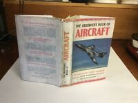 Observers Book Of Aircraft Nov 1955 1956 With A Copy Dust Jacket