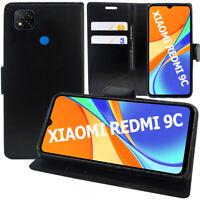 Étui Coque Housse Portefeuille Cuir Xiaomi Redmi 9C/ 9C NFC/ Redmi 9 (India)