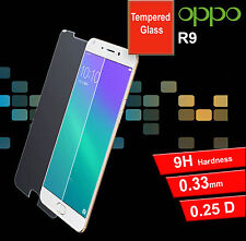 For OPPO R9 Tempered Glass Clear 9H Hard Screen Protector For OPPO R9