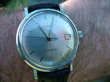CUSTOM DIAL Omega Seamaster Swiss 34mm Watch Vintage 1961 SERVICED WARRANTY