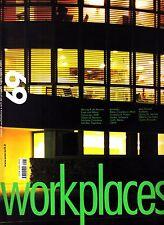 Area Magazine #69 Luglio/Agosto 2003 Workplaces rivista di architettura e arti