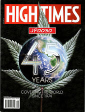 High Times Magazine 2019, 45 Years of Covering The World, New/Sealed