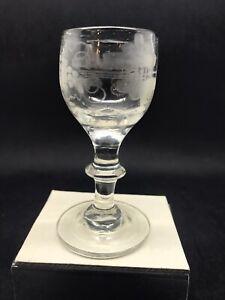 Lovely Little Vintage (Antique) Glass 15 Cm (Or458)