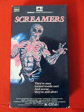 Screamers aka Island of the Fishmen VHS OOP VG-Exc. Barbara Bach Joseph Cotten