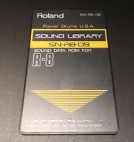 ROLAND R8 Cartridge Card Powerdrums USA