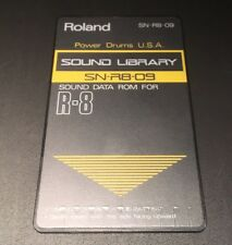 Roland r8 Cartridge card powerdrums EE. UU.