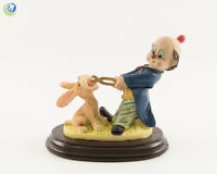 Dental Office Dentist Figurine Decoration Clown with Rabbit Patient Hand Painted