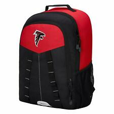 Atlanta Falcons Backpack, Embroidered logo reflective carabiner patch & zip tabs