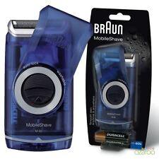 Braun Herren mobileshaver Portabel Reise Folie Rasierer Batterie PocketGo