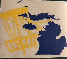 6� Michigan Disc Golf Vinyl Decal