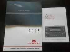N307 - 2005 KIA SPECTRA OWNER'S MANUAL