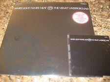 VELVET UNDERGROUND LOU REED WHITE LIGHT/WHITE HEAT WHITE VINYL LP + REPLICA CASE