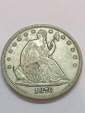 1876-S Seated Liberty Half Dollar XF #1317