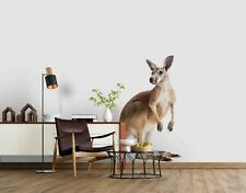 3D White Kangaroo Self-adhesive Removeable Wallpaper Wall Mural Sticker 21