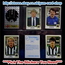 ☆ Panini Football 86  (Stickers 200 - 299) (GOOD) *Select the Stickers You Need*