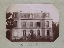 La maison à Précy-sur-OisePhoto amateur Tirage citrate vers 1900