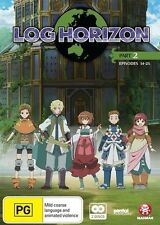 Log Horizon Part 2 (Eps 14-25) NEW R4 DVD