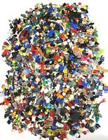 LEGO HUGE 3.5 POUND LOT OF MINIFIGURE PARTS & ACCESSORIES INCOMPLETE PEOPLE BULK