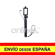 Palo Selfie con Cable Brazo Extensible Universal Ajustable Movil Negro a718