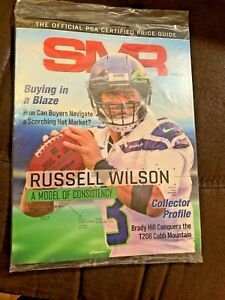SMR Magazine February 2021 Russell Wilson Official PSA Certified Price Guide