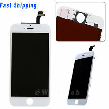 White LCD Display Screen Touch Digitizer Assembly Repair Parts For iPhone 6 4.7""
