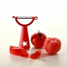 1 x Tupperware Red color Vegetable / Fruit Peeler- Original NEW!