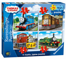 Ravensburger My First Puzzle Thomas Friends 2 3 4 5pc Jigsaw Puzzles