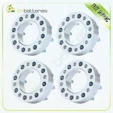 "4P 2"" 8x6.5 to 8x6.5 Wheel Spacers 14x1.5 Studs For 2001-2006 GMC Sierra 1500 HD"