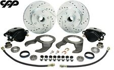 1937 48 Early Ford Stock Spindle Disc Brake Conversion Kit 5 X 475 Bolt Pattern Fits 1939 Ford