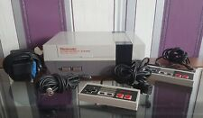 Nintendo Nes Console, Two Controllers & Leads
