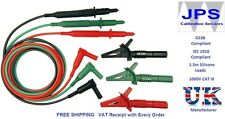 REPLACEMENT TEST LEADS FOR MEGGER MFT MULTIFUNCTION TESTERS JPSS020a