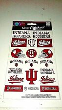 Indiana Hoosiers IU NCAA College Decals Spirit Stickers (Many Available)