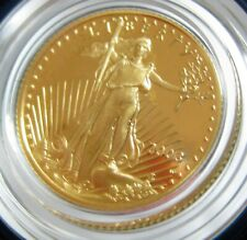 2003 W One-Tenth Ounce, Five Dollar Proof Gold Coin